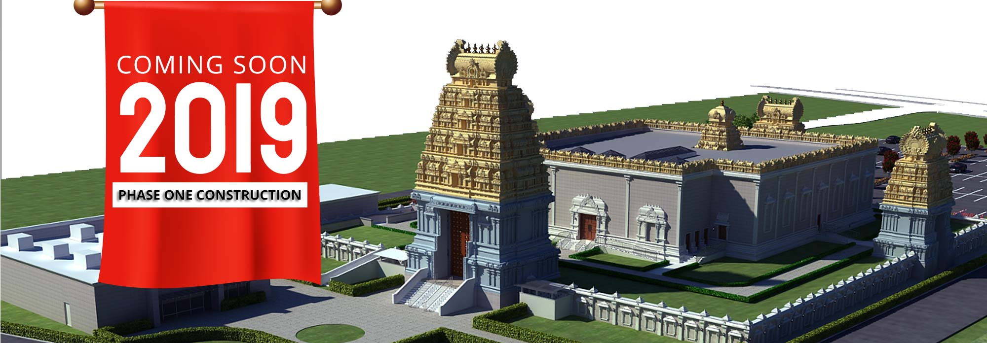 Sri Ganesha Temple, Hindu Temple of North Texas